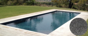 cristalline piscine french grey avec revêtement AQUABRIGHT - Pool Revet