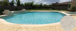 cristalline piscine sahara sand avec revêtement AQUABRIGHT - Pool Revet